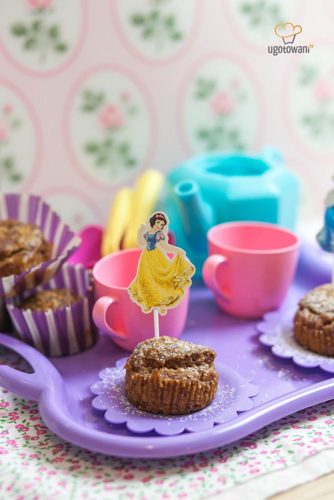 Marchewkowe babeczki bez cukru dla dzieci