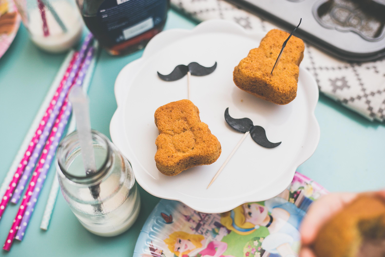 Muffiny, misie z dyni, z dynią, przepisy z dynią