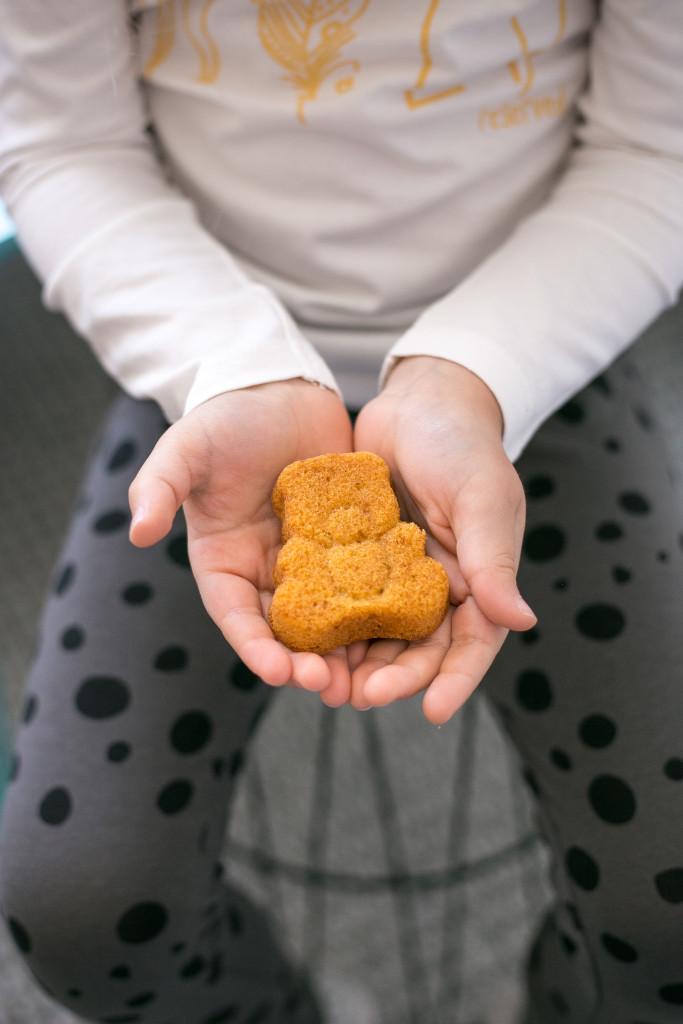 Bezglutenowe muffiny (misie)