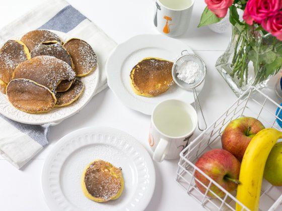 Pancakes z dyni na maślance
