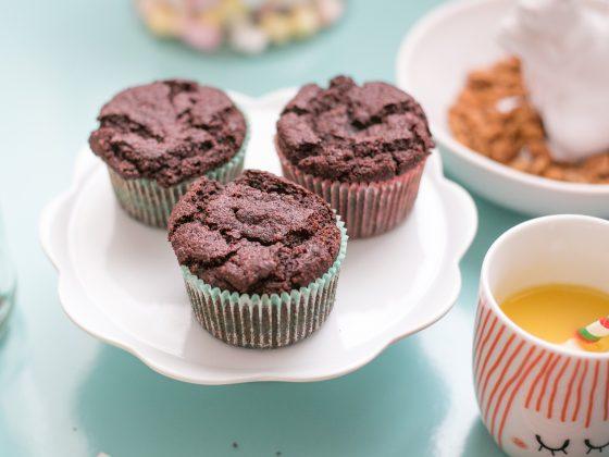 Muffiny buraczane, bez białego cukru, bezglutenowe