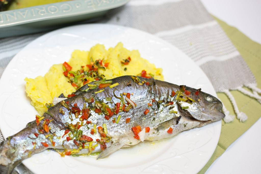 Przepis FIT - Ryba z piekarnika z solą himalajską