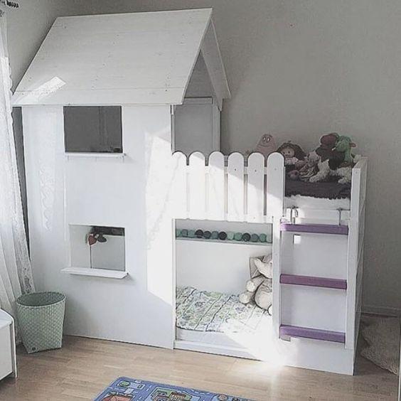 jak urządzić mały pokoik dla dwójki dzieci