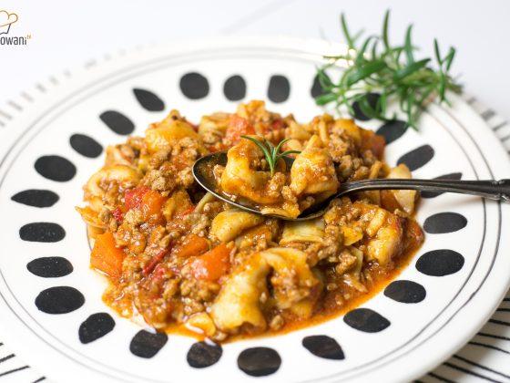 Szybkie danie jednogarnkowe z Tortellini