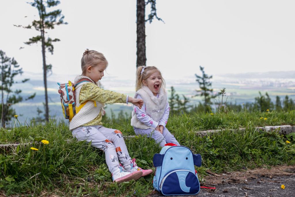 w góry z dzieckiem