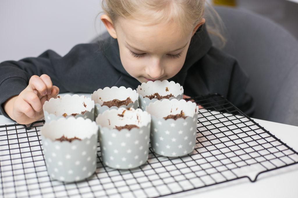 Muffiny bez mąki, jajek i cukru