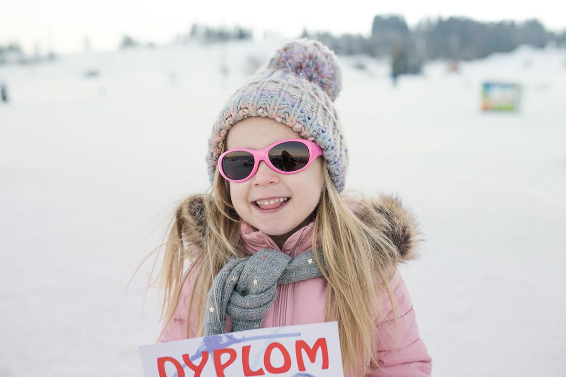 okulary na śnieg