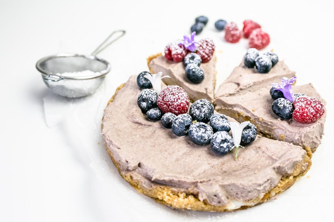 prosty tort bez cukru i bez glutenu
