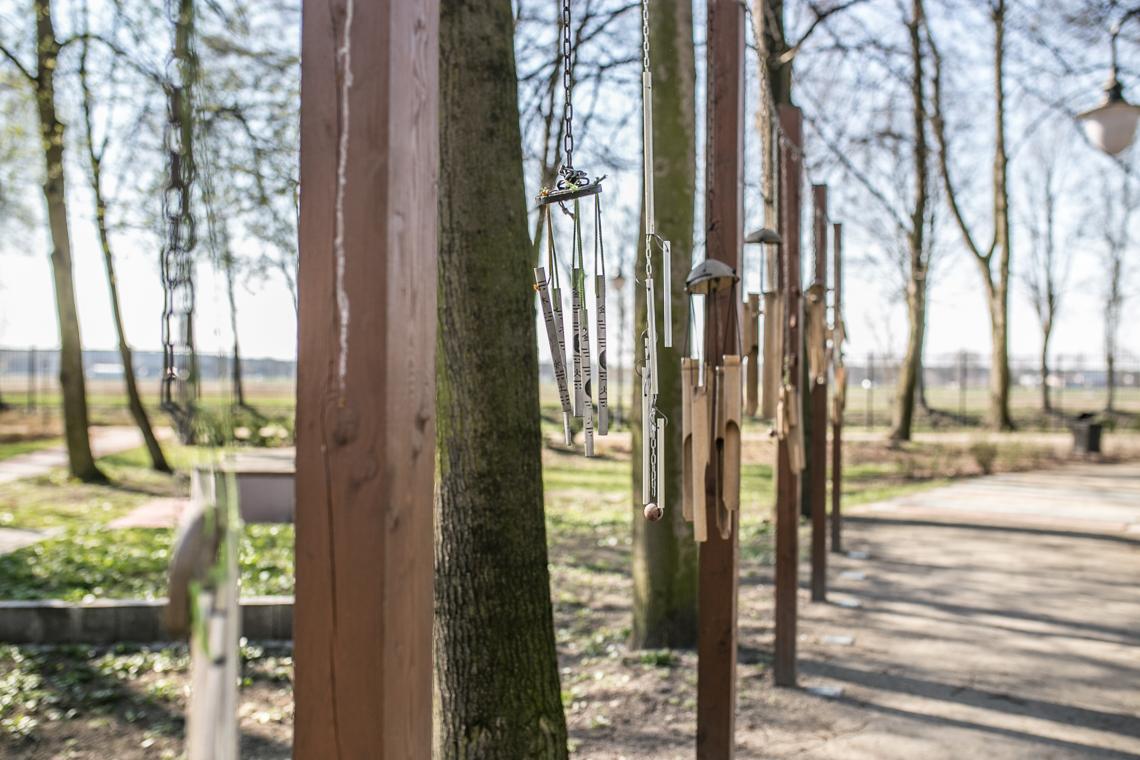 Ogród Zmysłów w Poddębicach
