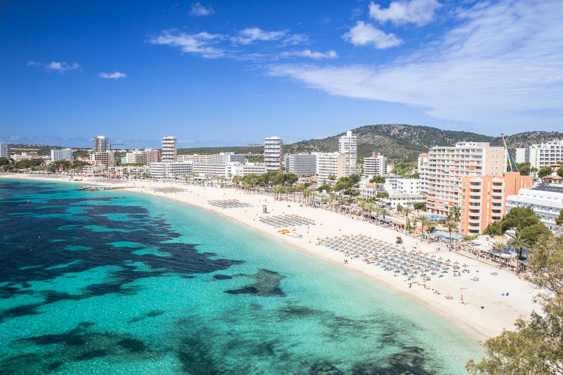 Hotel na Majorce z pięknym widokiem na morze