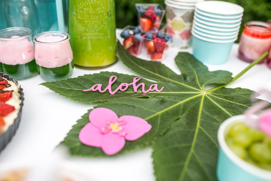 przyjęcie w stylu aloha party