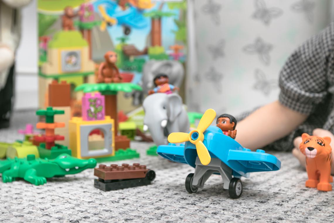 zabawki dla dzieci, allegro, lego duplo