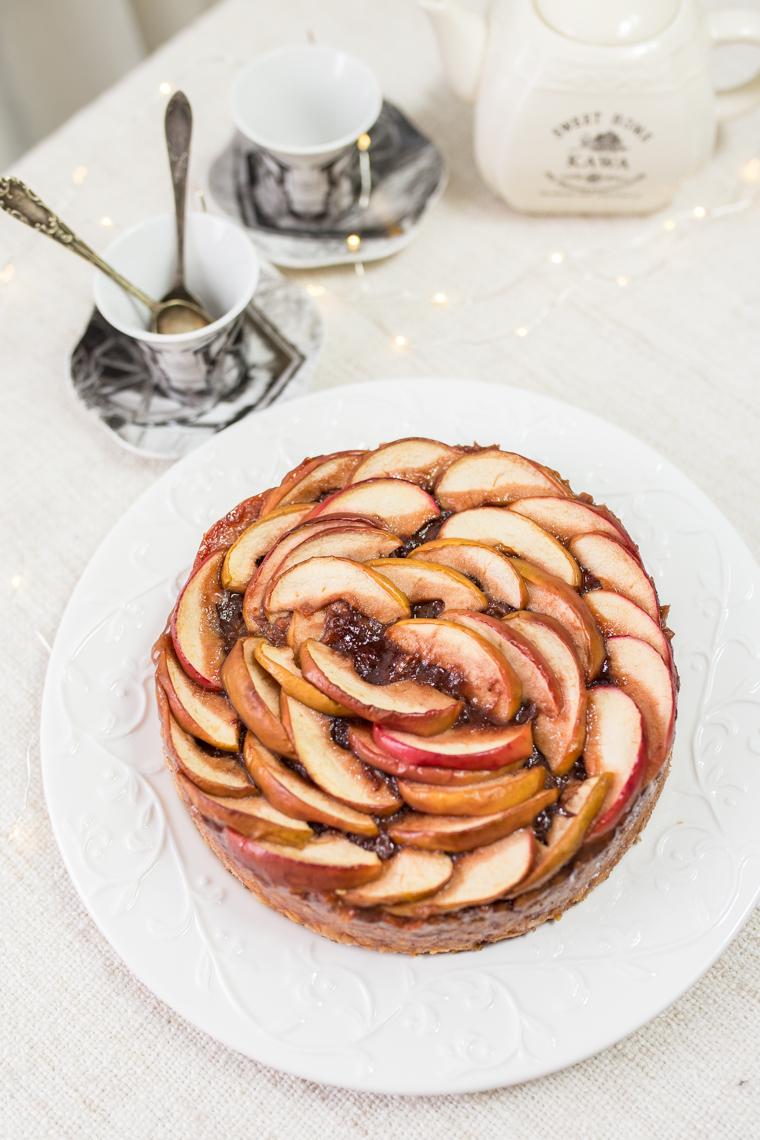 proste ciasto bez mąki, dżem truskawkowy, łowicz, ciasto bez glutenu