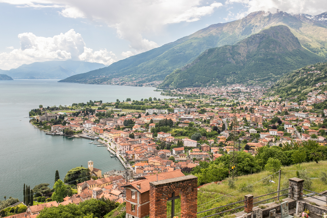 kwatera nad jeziorem Como we Włoszech