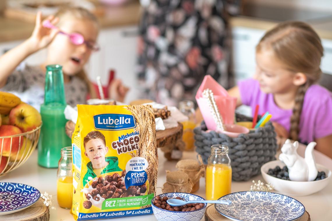 szybkie śniadanie, lubella, płatki śniadaniowe