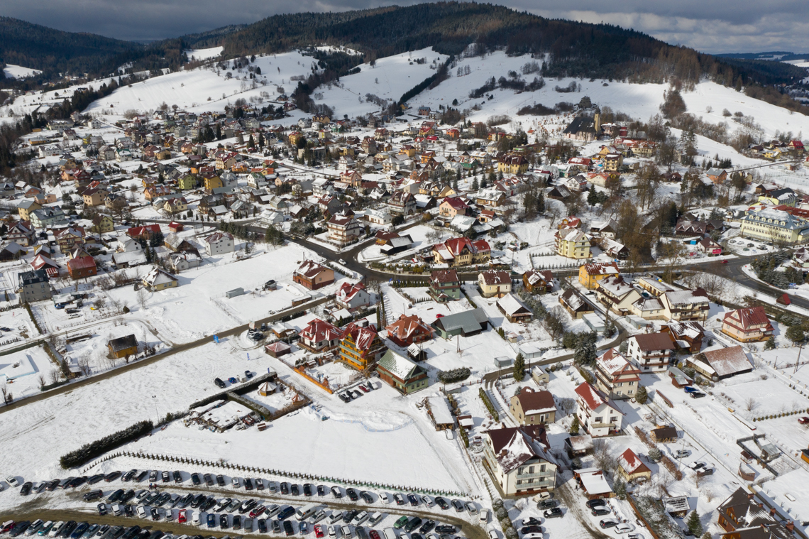 Krynica Zdrój dla dzieci - 41 fantastycznych atrakcji dla dzieci w Beskidach, tylicz z drona, mamagerka, angelika witaszewska
