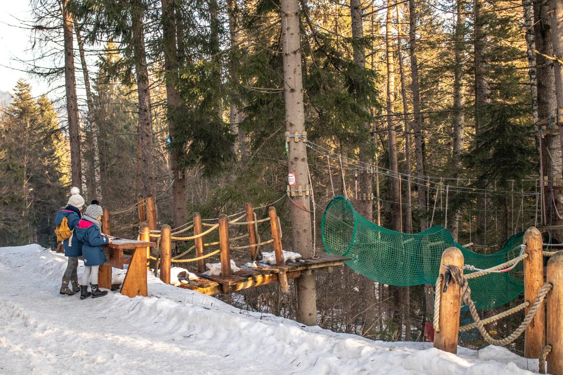 Krynica Zdrój dla dzieci - 41 fantastycznych atrakcji dla dzieci w Beskidach, góra parkowa, kolejka na górę parkową