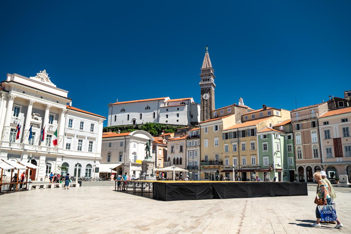 piran, jednodniowa wycieczka na słowenię, co zobaczyć w Piranie, słowenia, chorwacja, mamagerka w podróży