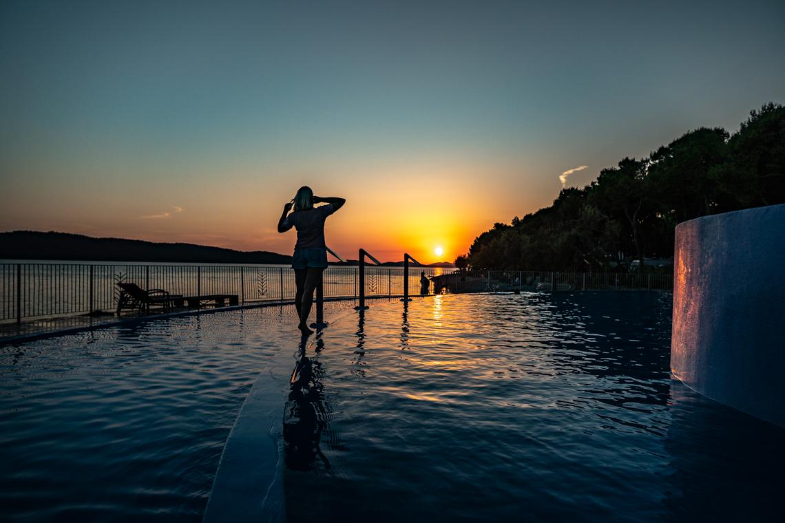Sprawdzony camping w Chorwacji, solaris camping, mamagerka, chorwacja, co zobaczyć w chorwacji, camping dla dzieci w chorwacji, kwatery w chorwacji, zachód słońca