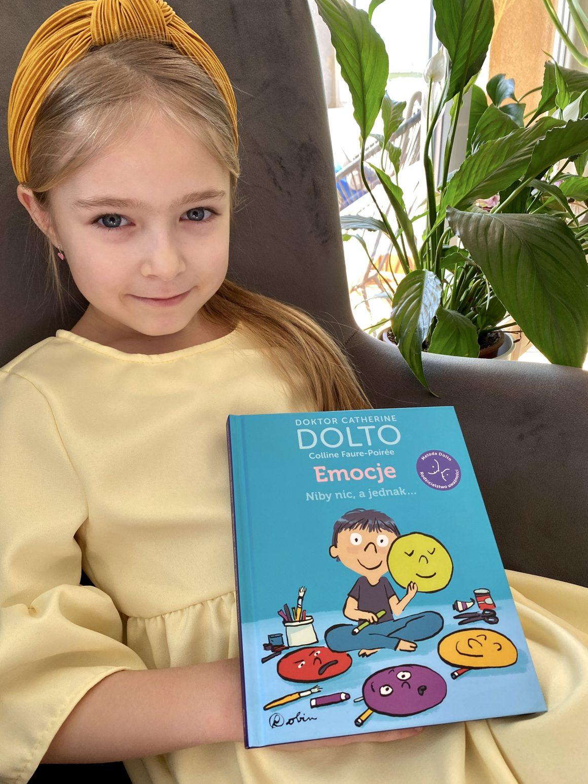 emocje niby nic a jednak recenzja, książka o emocjach dzieci, książki dla dzieci, mamagerka